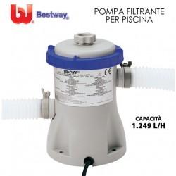 POMPA FILTRO A CARTUCCIA PER PISCINA 1249 LT/H - Mod. 58381