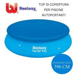 TOP DI COPERTURA PER PISCINE AUTOPORTANTI Ø CM. 396 - BESTWAY 58415