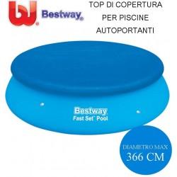 TOP DI COPERTURA PER PISCINE AUTOPORTANTI Ø CM. 366 - BESTWAY 58034