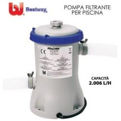 POMPA FILTRO A CARTUCCIA PER PISCINA 2.006 LT/H - MOD. 58383