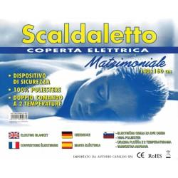SCALDASONNO/TERMOCOPERTA PER LETTO MATRIMONIALE Cm140x160