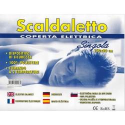 SCALDASONNO/TERMOCOPERTA PER LETTO SINGOLO CM. 80x150