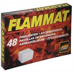 ACCENDIFUOCO 48 CUBETTI FLAMMAT