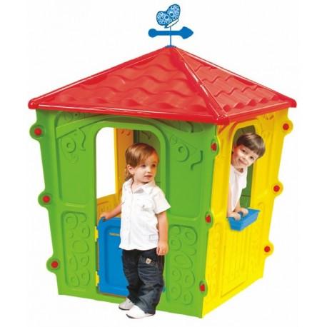 Casetta In Plastica Per Giardino.Casetta Da Giardino X Bambini In Plastica Colorata Casa X Bambini