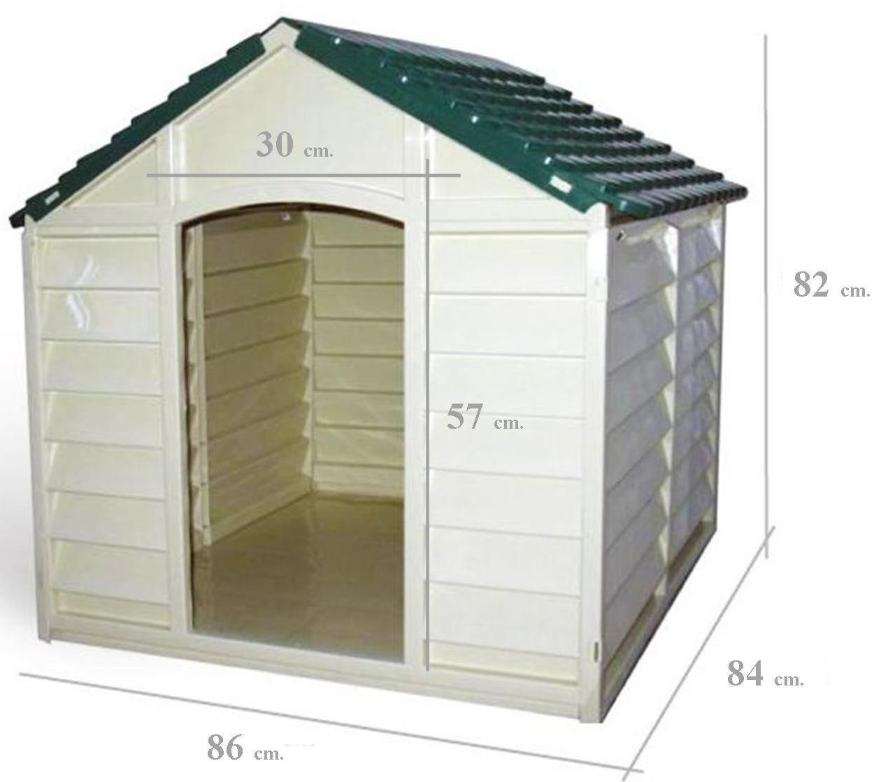 Grigio Chiaro con tetto Verde